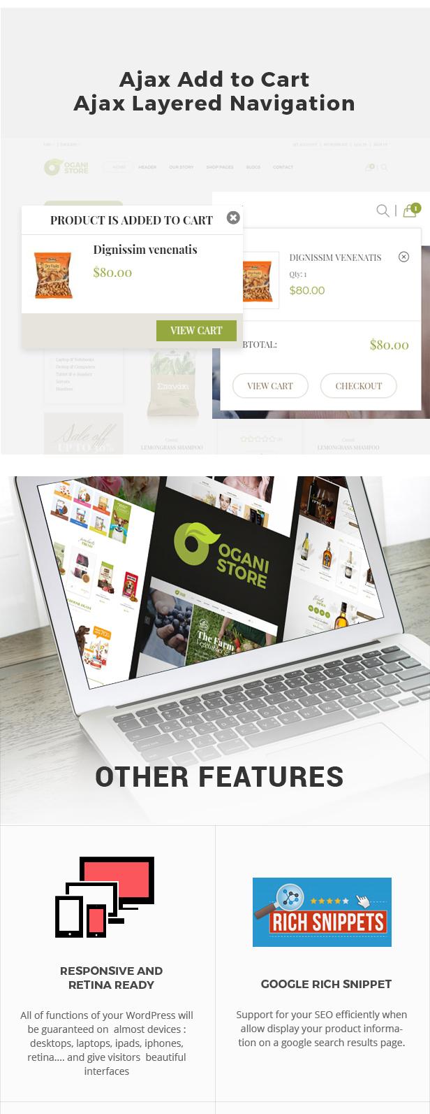 Ogani - Organic Food Store Theme for WooCommerce WordPress 29