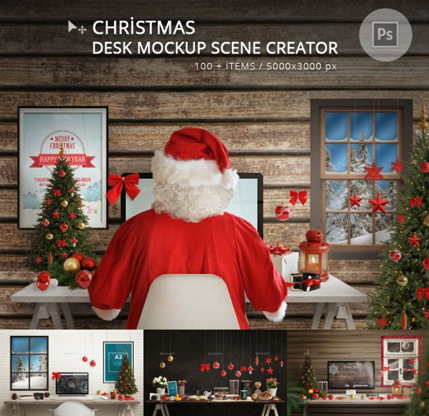 Christmas Responsive Mockup - 2