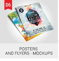 Posters And Flyers - Mockups
