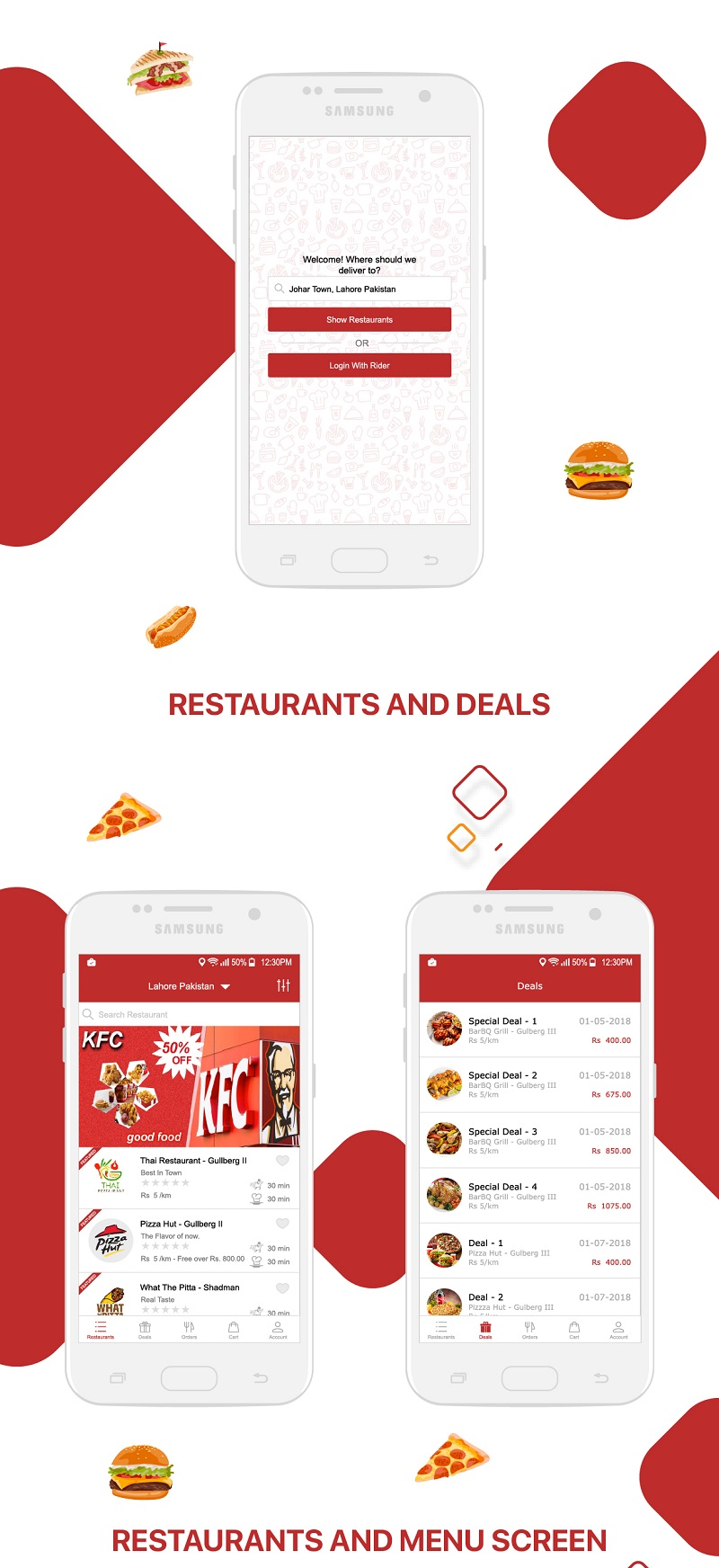 Native Restaurant Food Delivery & Ordering System With Delivery Boy - Android v2.0.6 - 11
