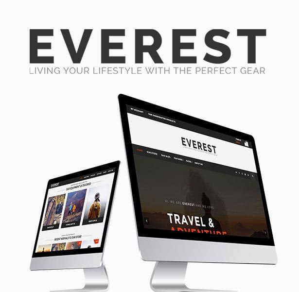 Everest - Minimal Ecommerce WordPress Theme 24