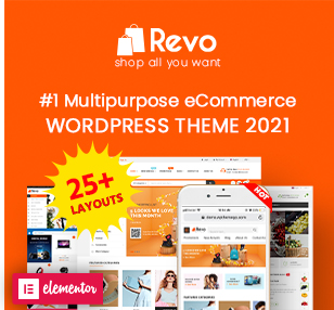 Revo - Multipurpose Elementor WooCommerce WordPress Theme