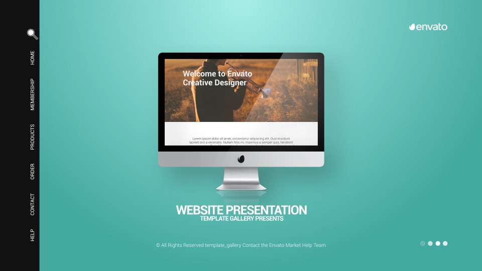 website display presentationtemplate_gallery | videohive, Powerpoint templates