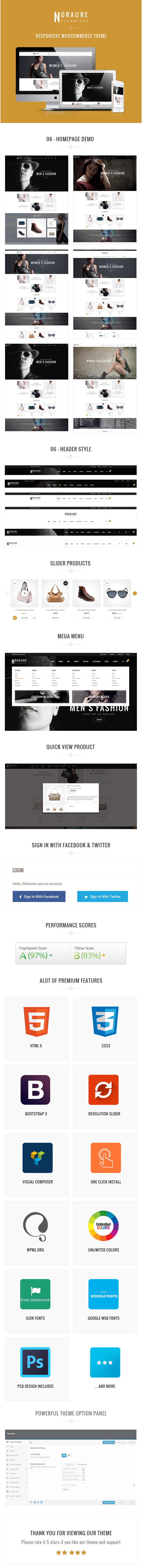 Noraure WordPress Theme