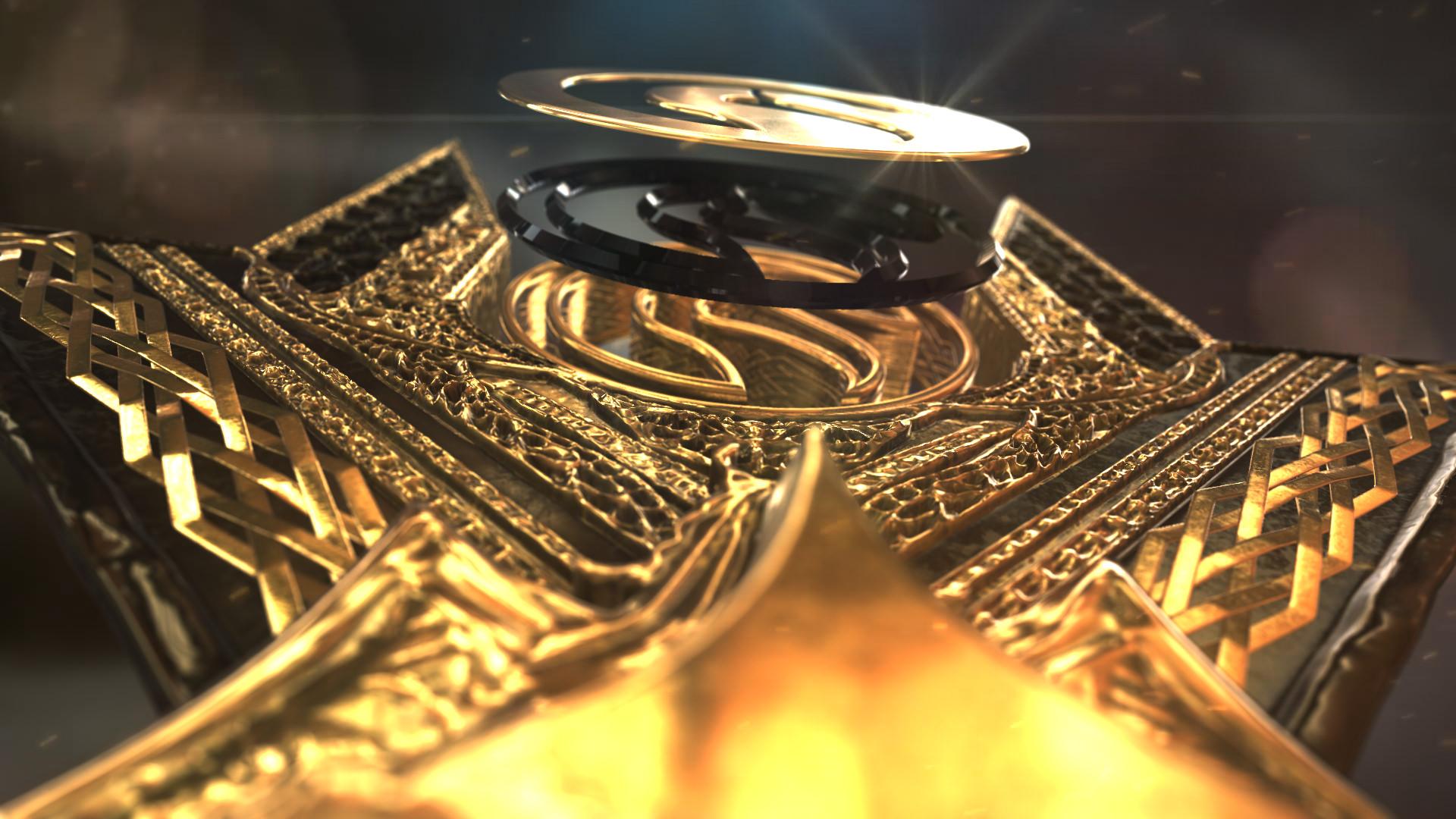 Gold Element Logo - 4