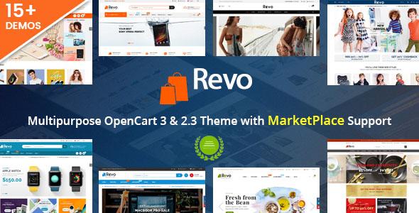 Revo - Responsive MultiPurpose HTML 5 Template (Mobile