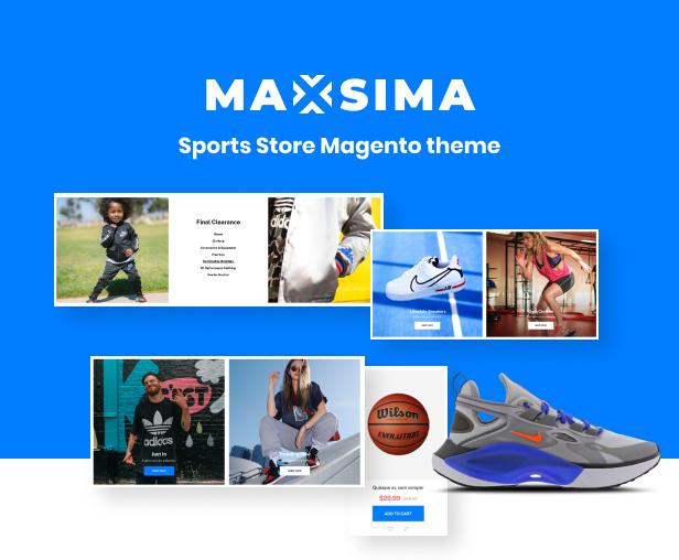 Maxsima - Sports eCommerce Magento 2 Theme - 2