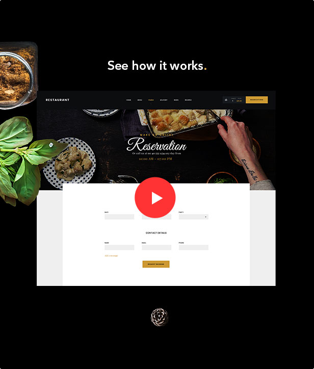 Restaurant Dannys | Restaurant and Cafe WordPress Theme - 2