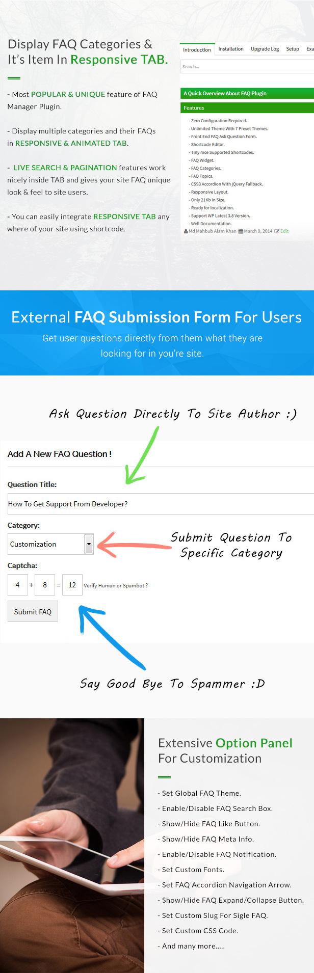 BWL Advanced FAQ Manager by xenioushk | CodeCanyon