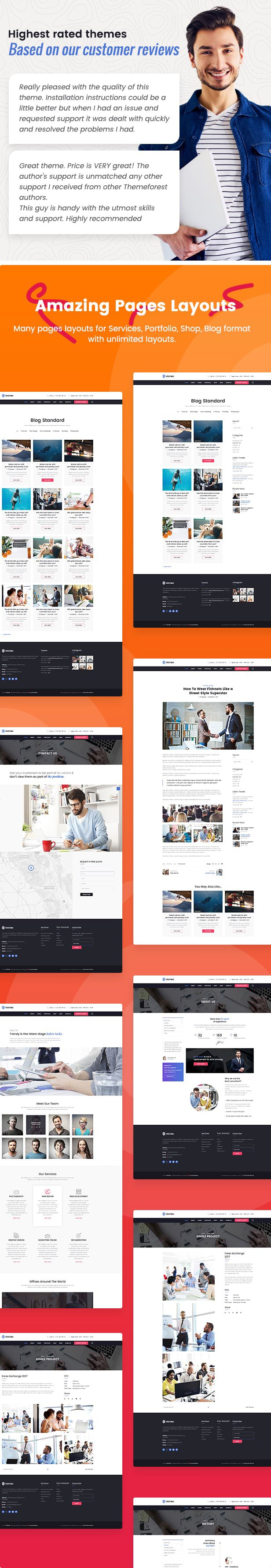 VestMa - Business, Consulting, Corporate WordPress Theme - 3