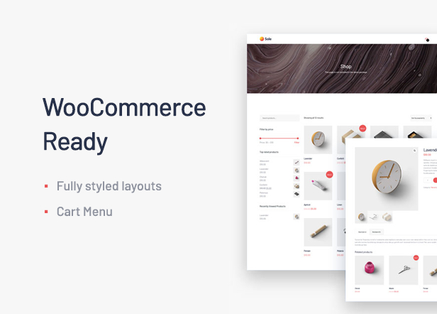 Sole - One Page WordPress Theme