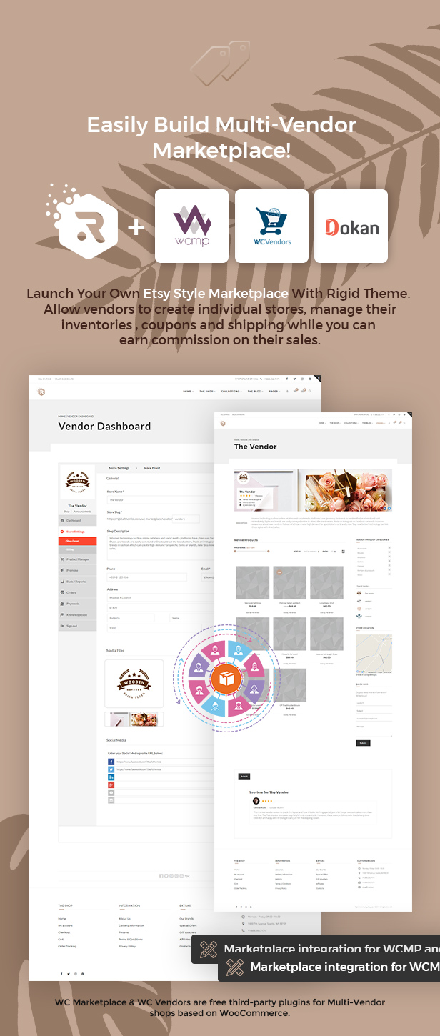 Rigid - WooCommerce Theme for Enhanced Shops and Multi Vendor