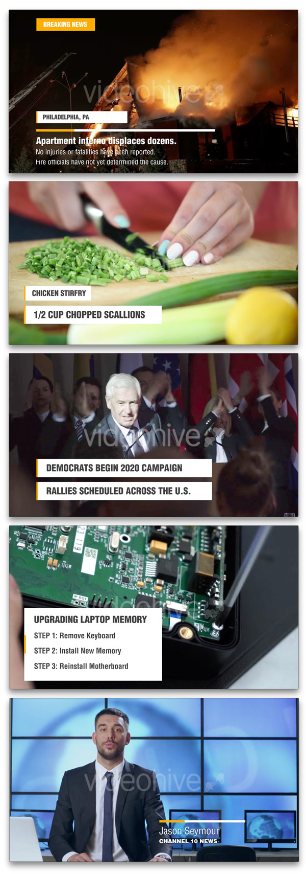 Newsworthy Titles and Lower Thirds - 2