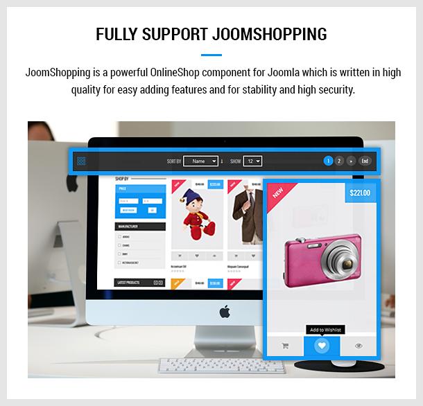 Vanesa   Mega Store Responsive Joomla Template - 18