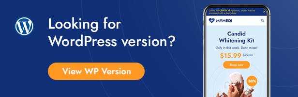 MyMedi - eCommerce HTML Template