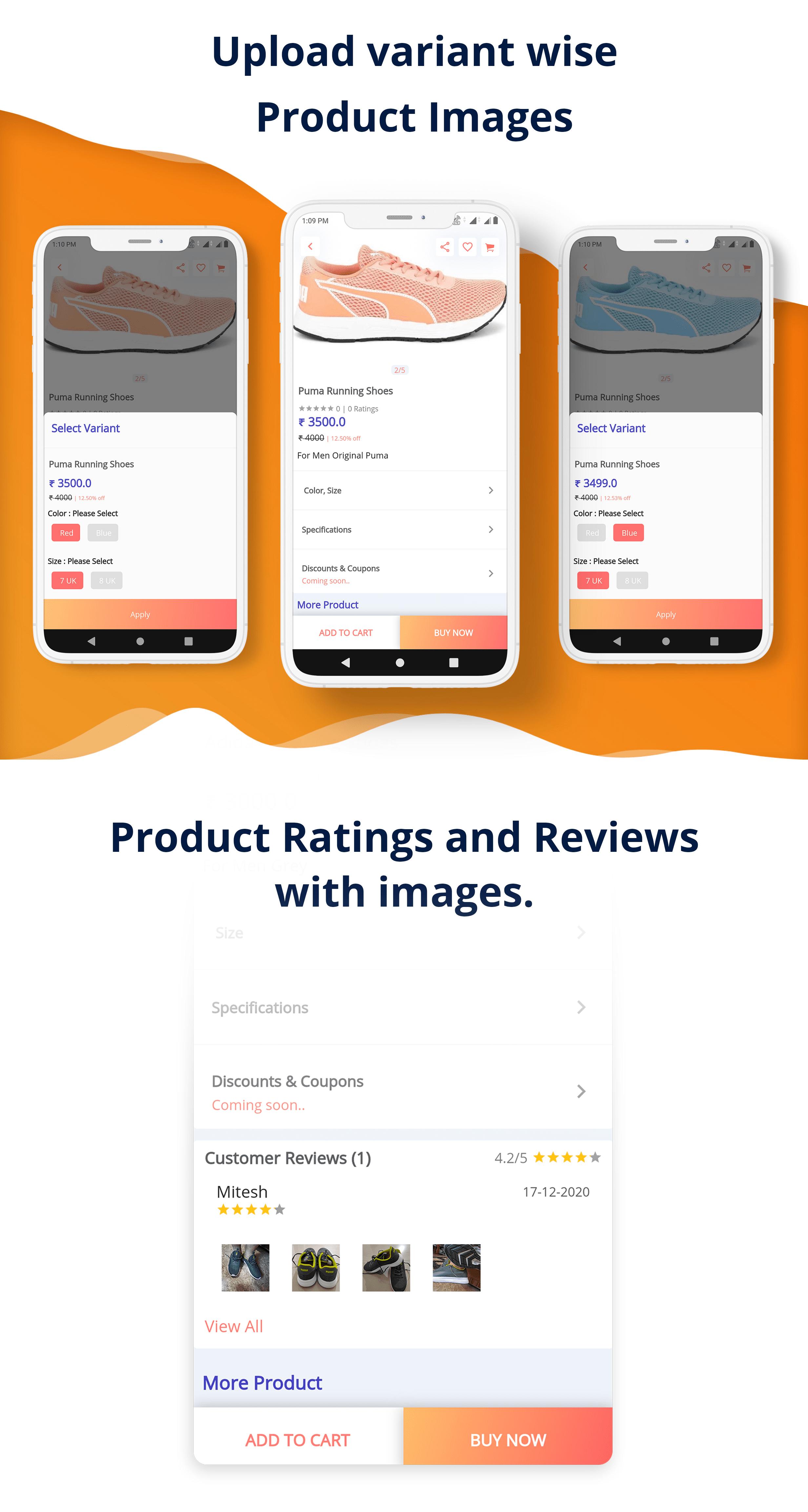 eShop - Flutter E-commerce Full App - 10