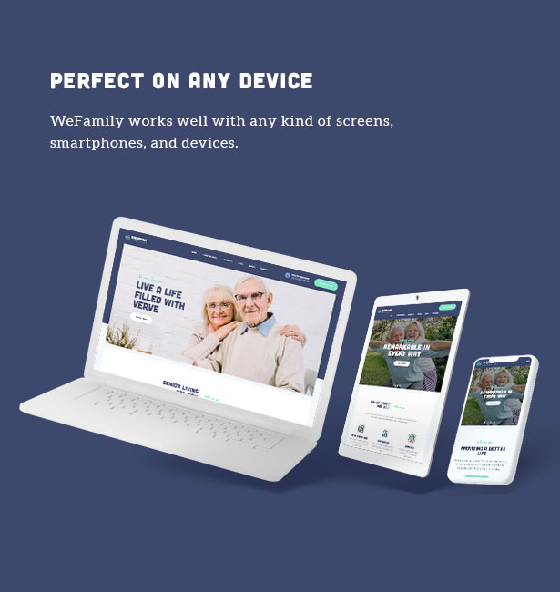 OakTrix - Senior Care WordPress Theme