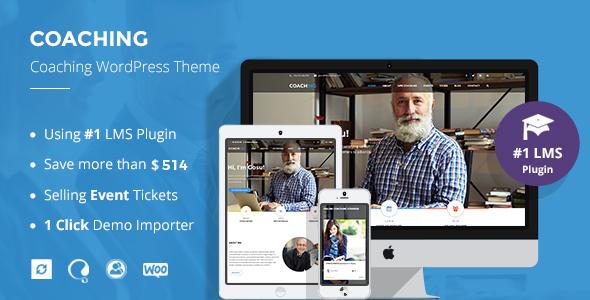 Speaker & Life Coaching WordPress Theme | Coaching WP