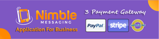 Now With Two Payment Gateways paypal, stripe and authorize.net