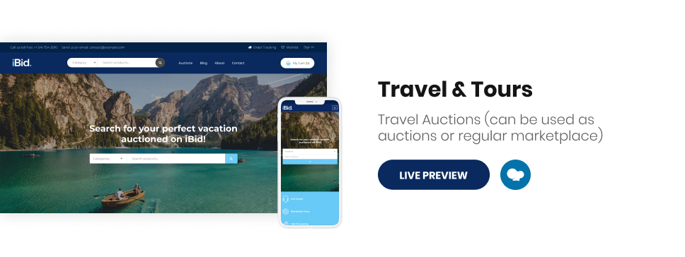 iBid - Multi Vendor Auctions WooCommerce Theme - 18