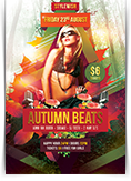 Autumn Beats Flyer
