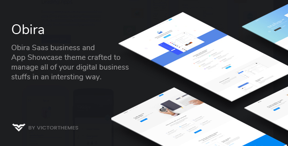 Obira - SaaS Business & App Showcase WordPress Theme