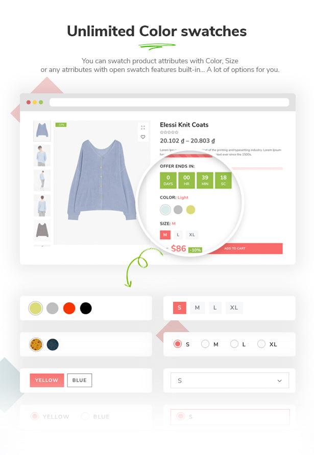 Elessi 2.0 - Responsive Shopify Theme - 12