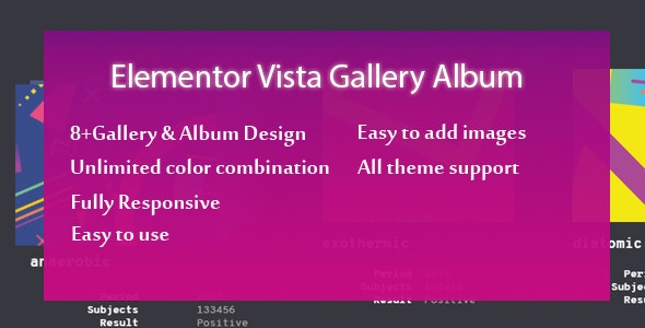 Elementor - Ultimate Gallery Album - CodeCanyon Item for Sale