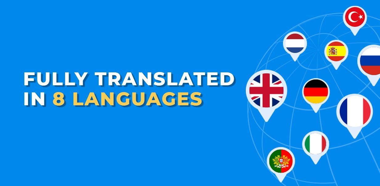 Education WordPress Theme Fully translated