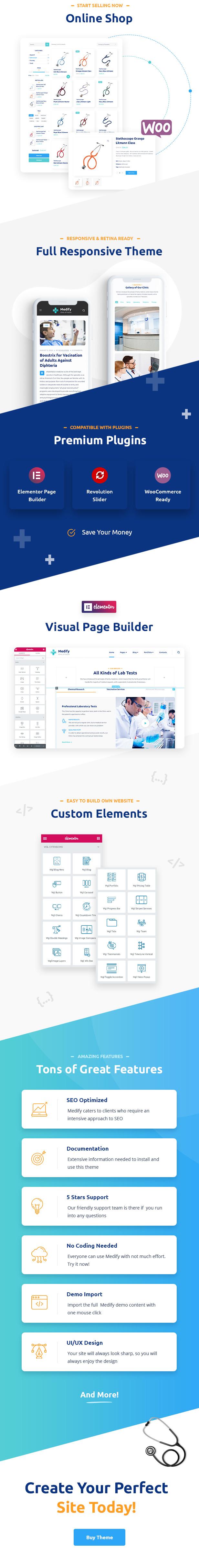 Medify - Health & Clinic WordPress Theme - 3