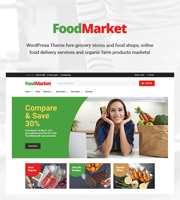 1155d9ddc5a0 Food Market - Food Shop   Grocery Store WordPress Theme by cmsmasters
