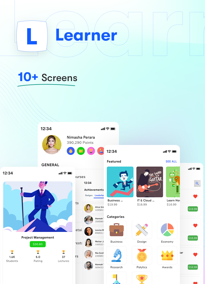 ProKit - Best Selling Flutter UI Kit - 32