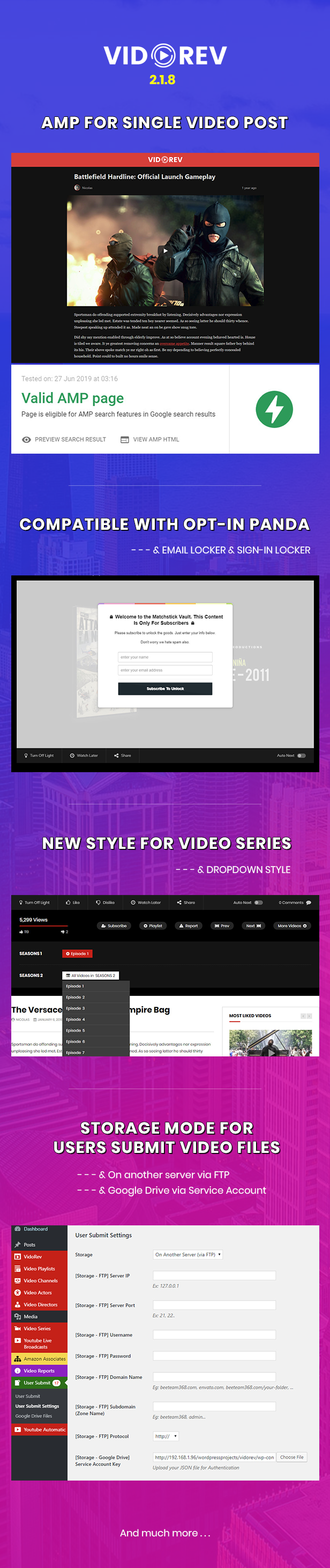 VidoRev - Video WordPress Theme - 4