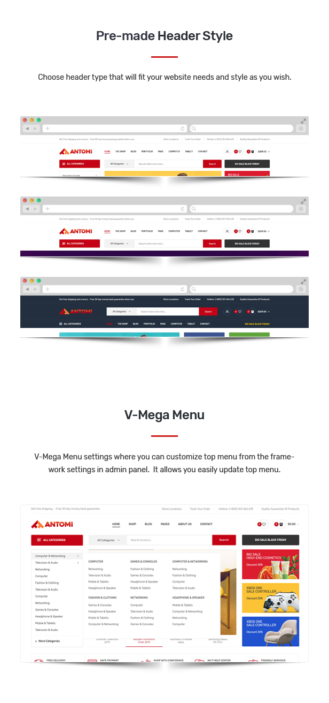 Antomi - Multipurpose Theme for WooCommerce WordPress 26