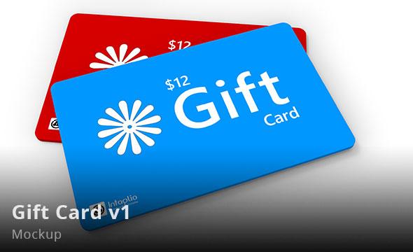 Gift Card v1  Mockup