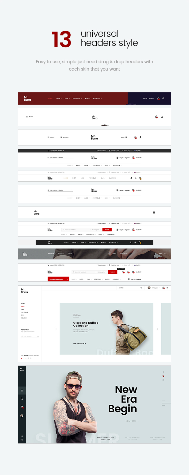 Mr.Bara - Responsive Multi-Purpose eCommerce WordPress Theme - 15
