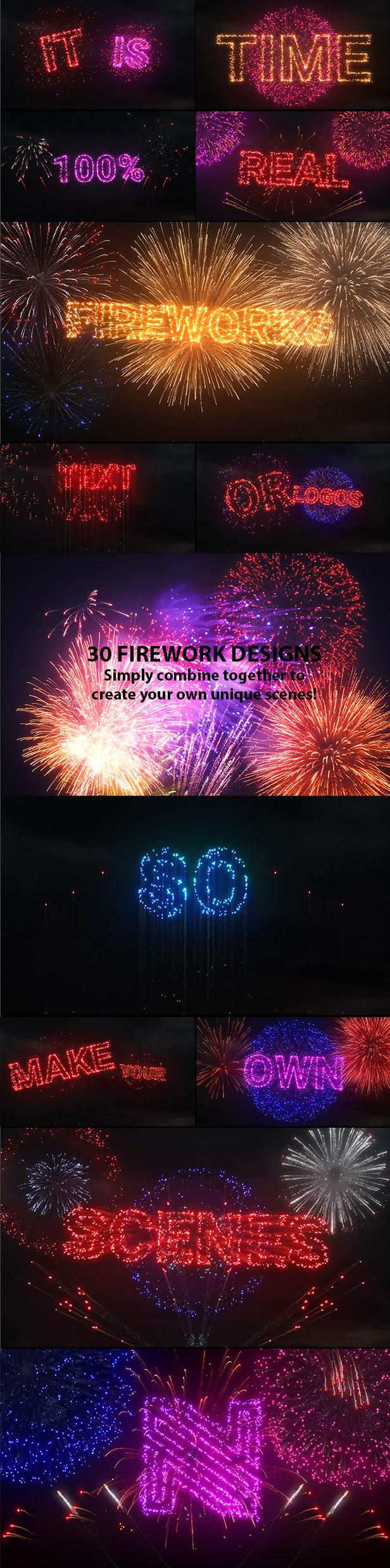 Fireworks Logo & Titles - 6