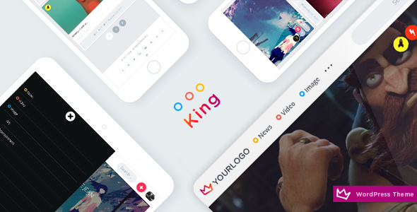 King WordPress Viral Theme