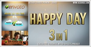 Happy Day 3 in 1