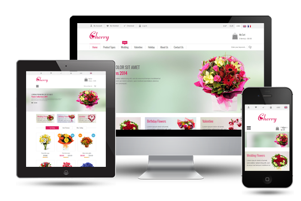 SM Cherry - Fully Responsive