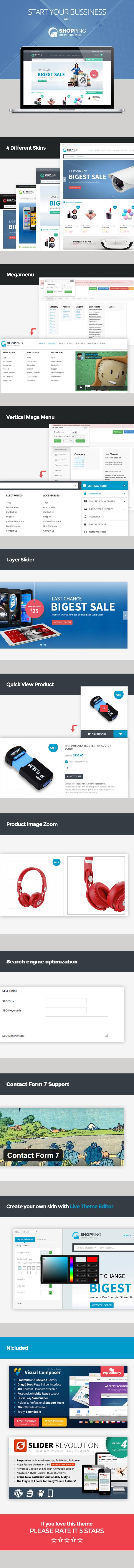 Shopping WooCommerce Responsive WordPress Theme - 5