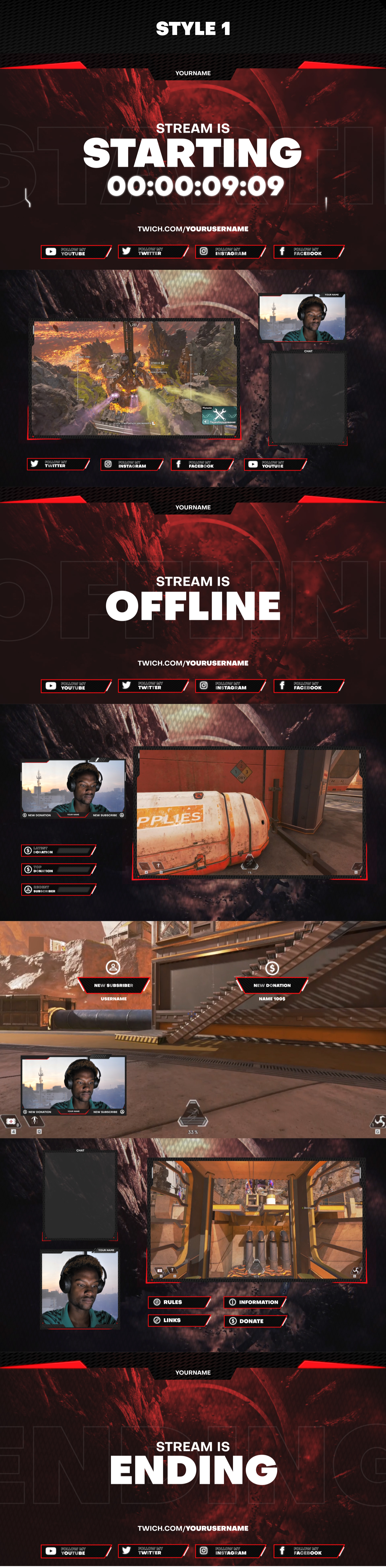 Stream Gaming Pack - 1
