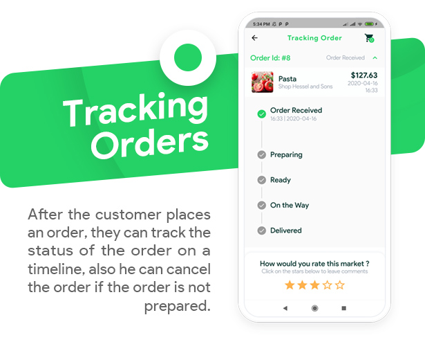 Grocery, Food, Pharmacy, Store Delivery Mobile App with Admin Panel - 12