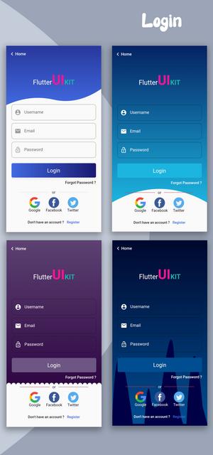 Material Design - Flutter Ui Kit Android - 13