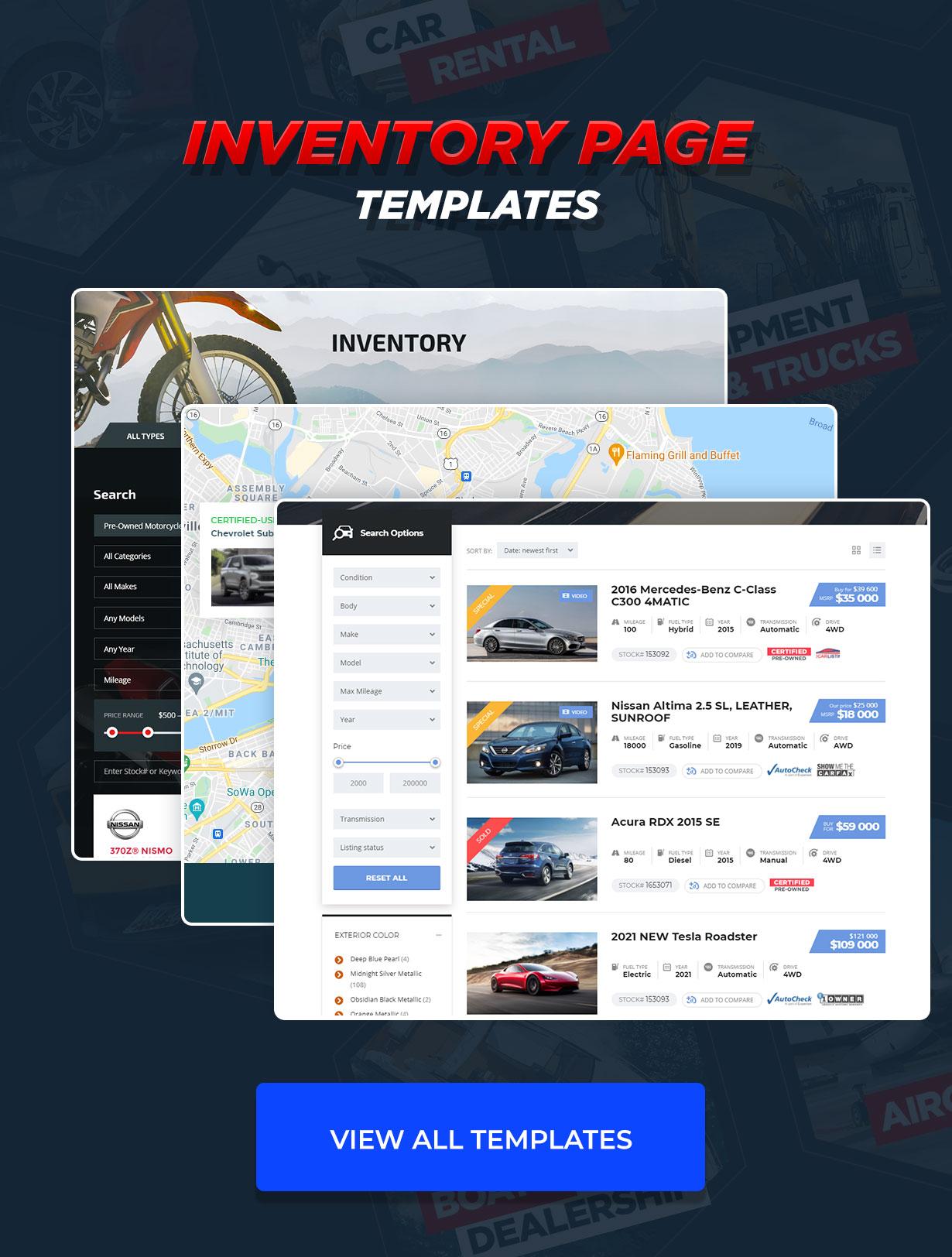 Motors - Car Dealer, Rental & Listing WordPress theme - 16