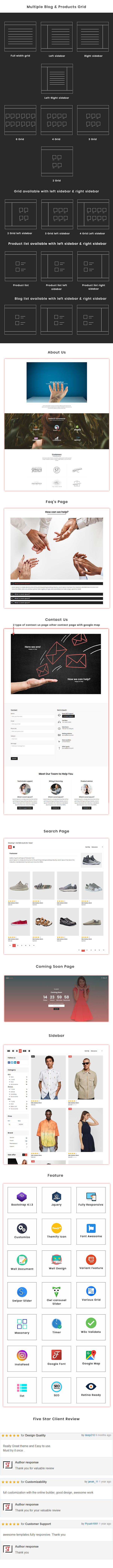Libazz Fashion - Ecommerce  HTML5 Template - 4