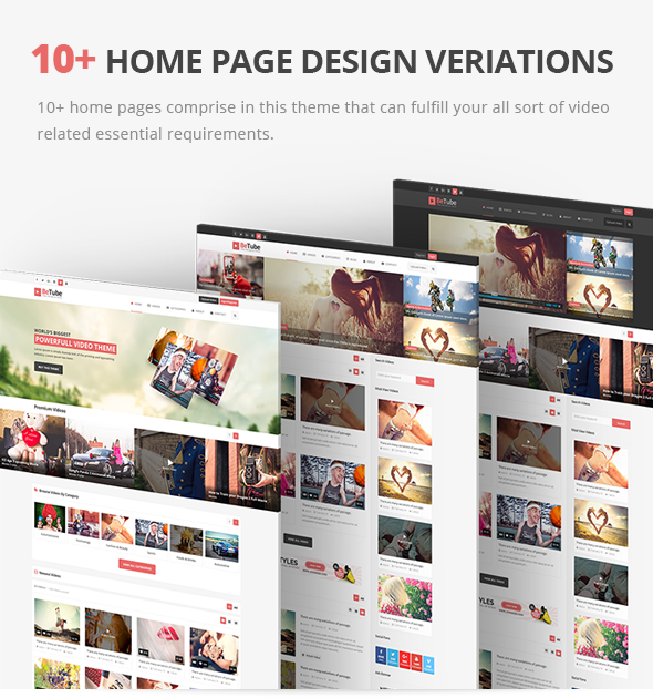 betube home pages design