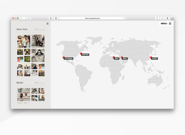 Wordpress theme where you can show photos on a map