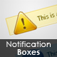 Notification Boxes Pack - 1