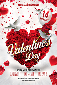 Valentines Day Flyer '14